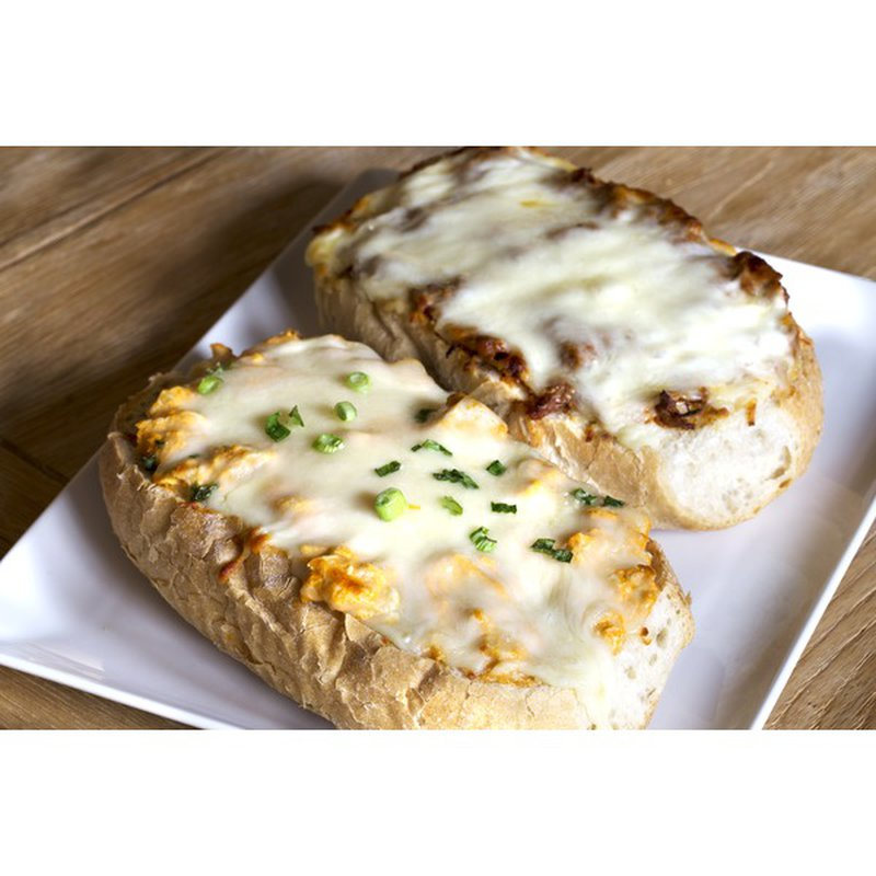 Standard Market Pulled Pork French Bread Pizza