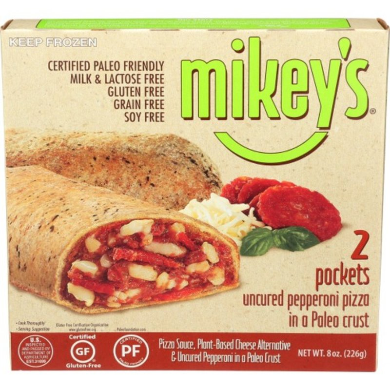 Mikey's Pizza Pockets, Pepperoni