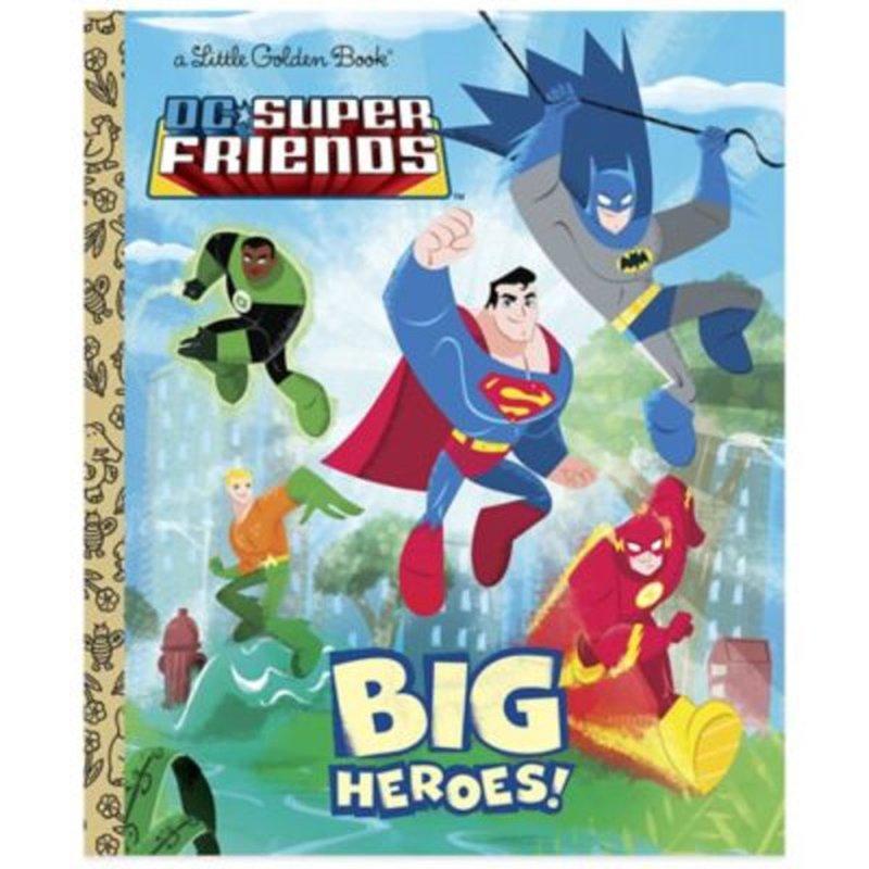 Golden Books Big Heroes DC Super Friends Little Golden Book