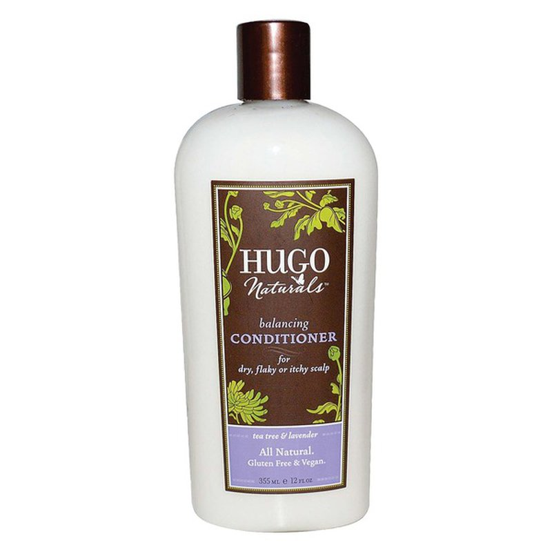 Hugo Naturals Balancing Conditioner, Tea Tree & Lavender