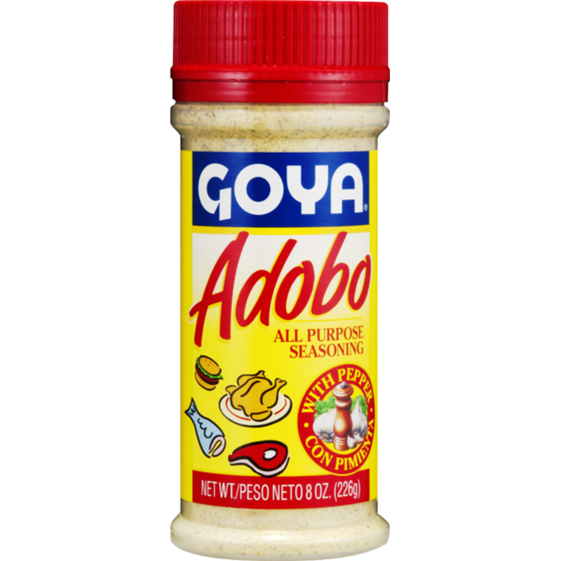 Goya Adobo All Purpose Seasoning With Pepper 8 Oz Instacart