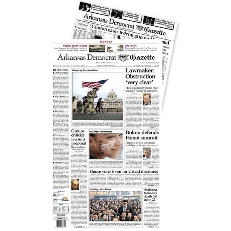 Arkansas Democrat-Gazette Newspaper