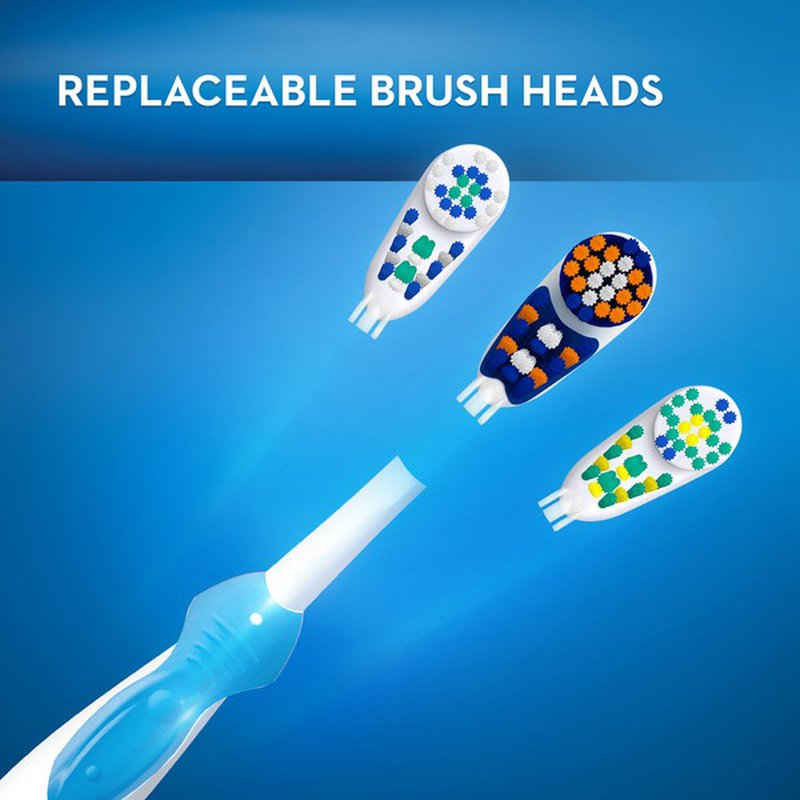 Oral-B 3D White Battery Power Electric Toothbrush