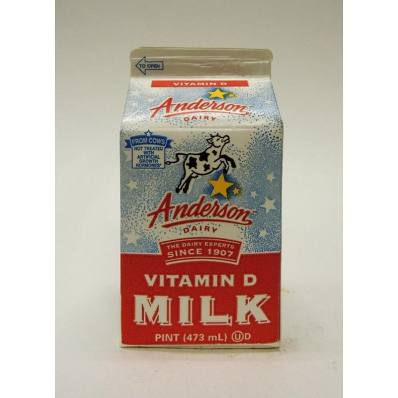 Anderson Dairy Vitamin D Milk with Whole Calcium
