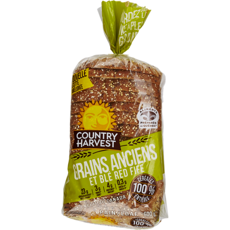 Country Harvest Ancient Grains & Red Fife Loaf