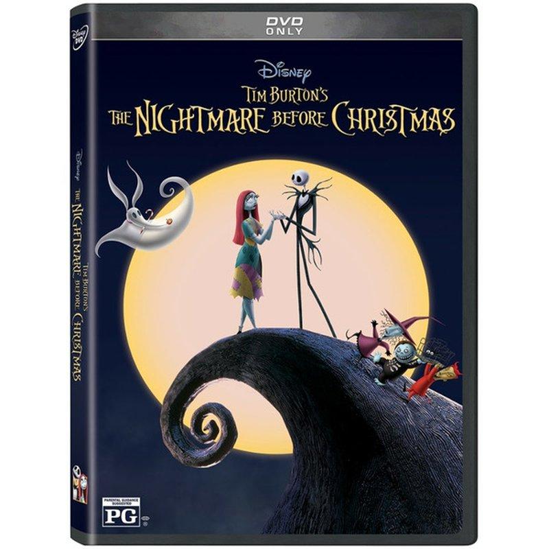 Walt Disney Video The Nightmare Before Christmas 25th Anniversary DVD