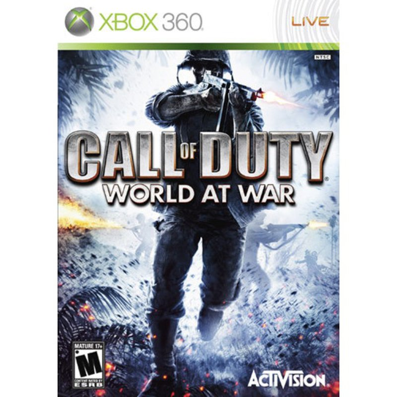 Activision Call of Duty World at War Platinum Hits for Xbox 360