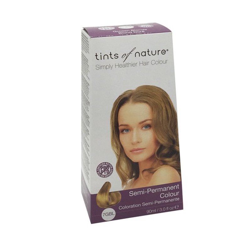 Tints of Nature Gylden Blond Semi-Permanent 7GBL | Køb