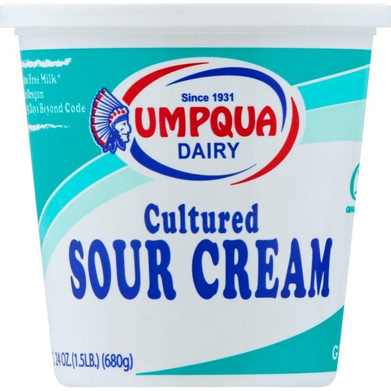 Umpqua Dairy Sour Cream
