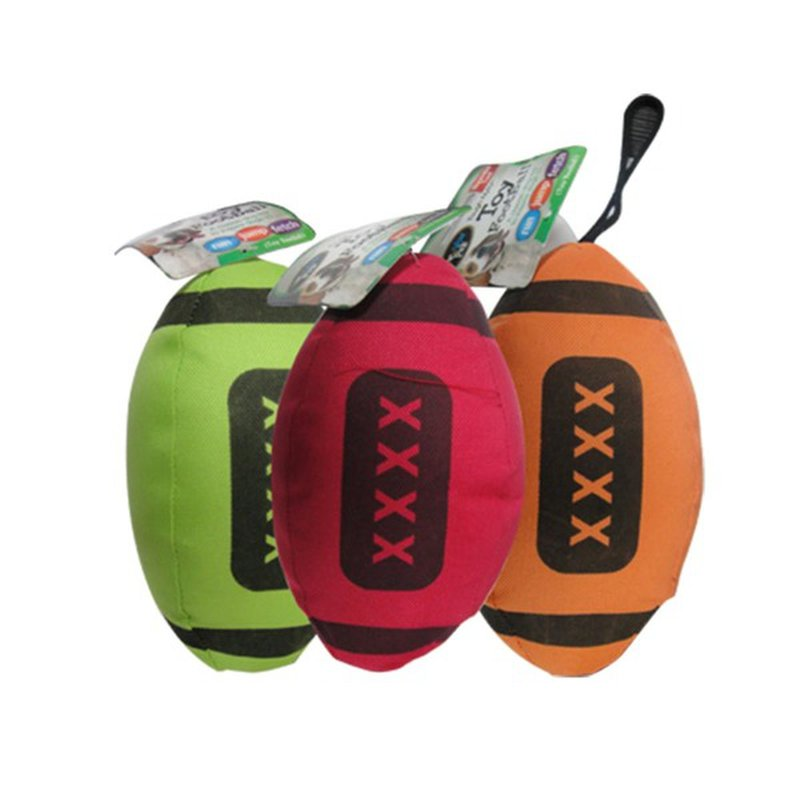 Bow Wow Pals Army Football Nylon Squeaky Dog Toy