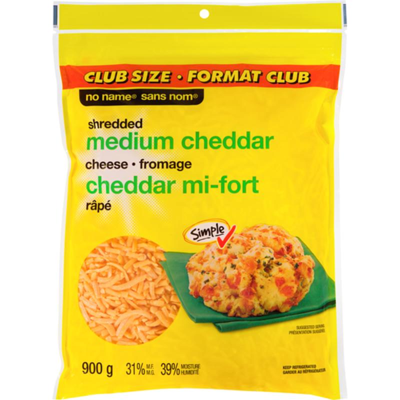 Medium Cheddar Cheese Shreds