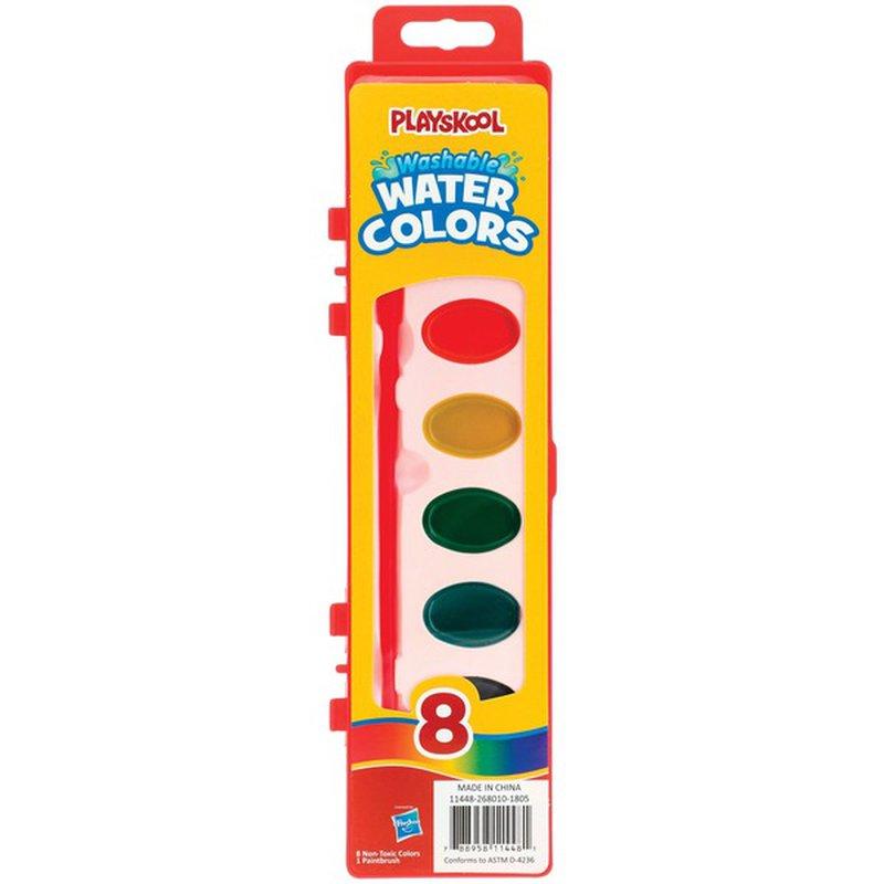 Playskool Washable Water Color Paint Set