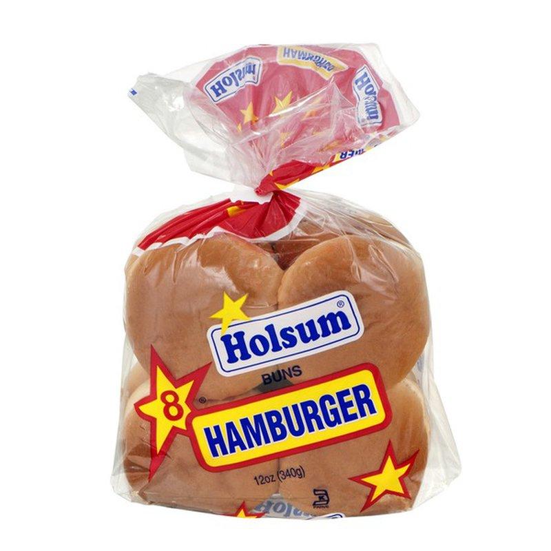 Holsum Enriched Hamburger Rolls