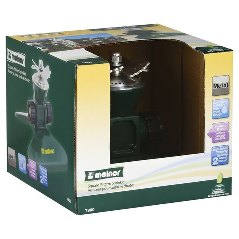 Melnor Metal Rotary Sprinkler 35 X35