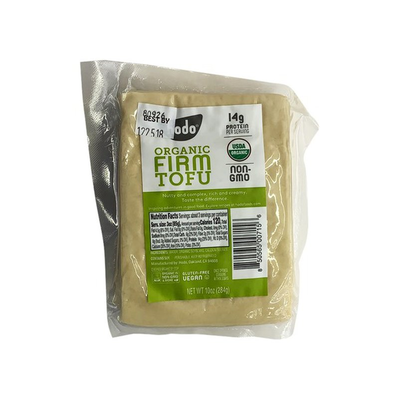 Hodo Firm Tofu, Organic, Shrink Wrapped