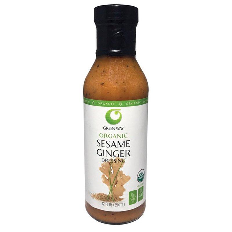 Green Way Organic Sesame Ginger Vinaigrette