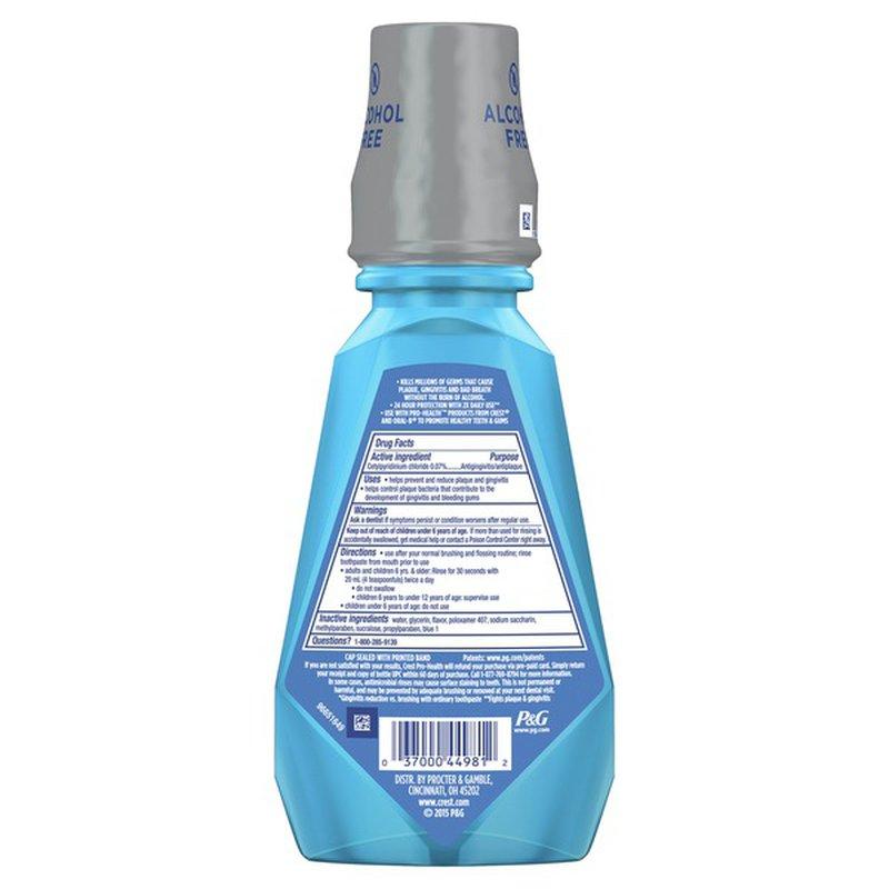 Crest Multi Protection Clean Mint Cpc (Cetylpyridinium Chloride)