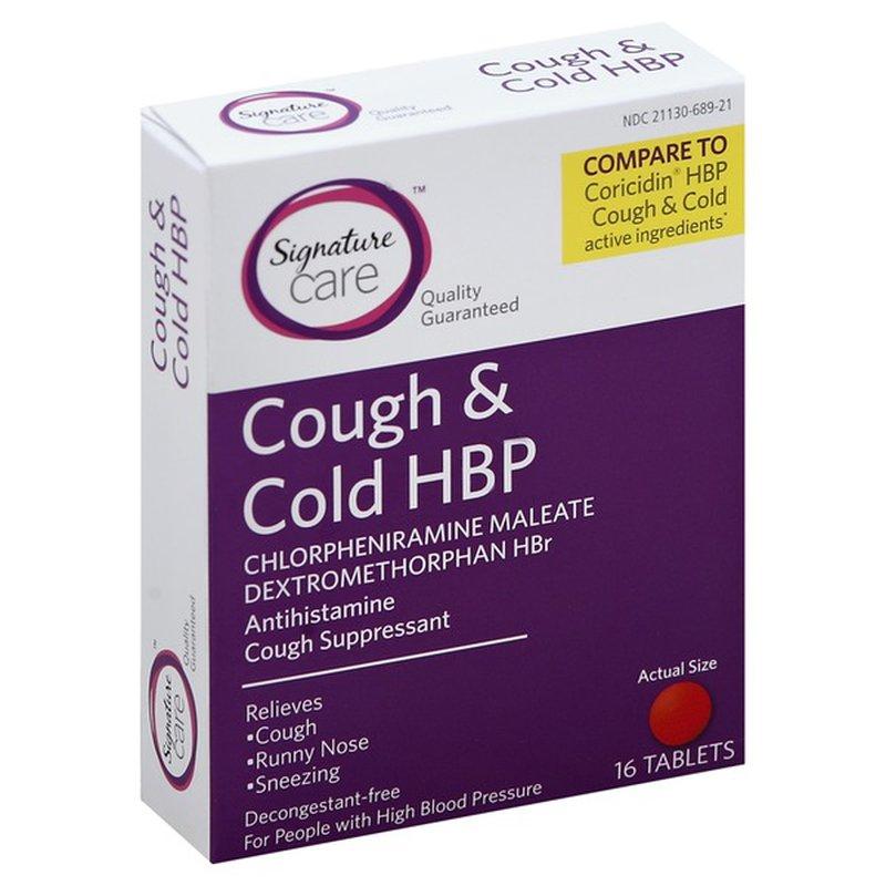 Signature Care Cough & Cold Hbp