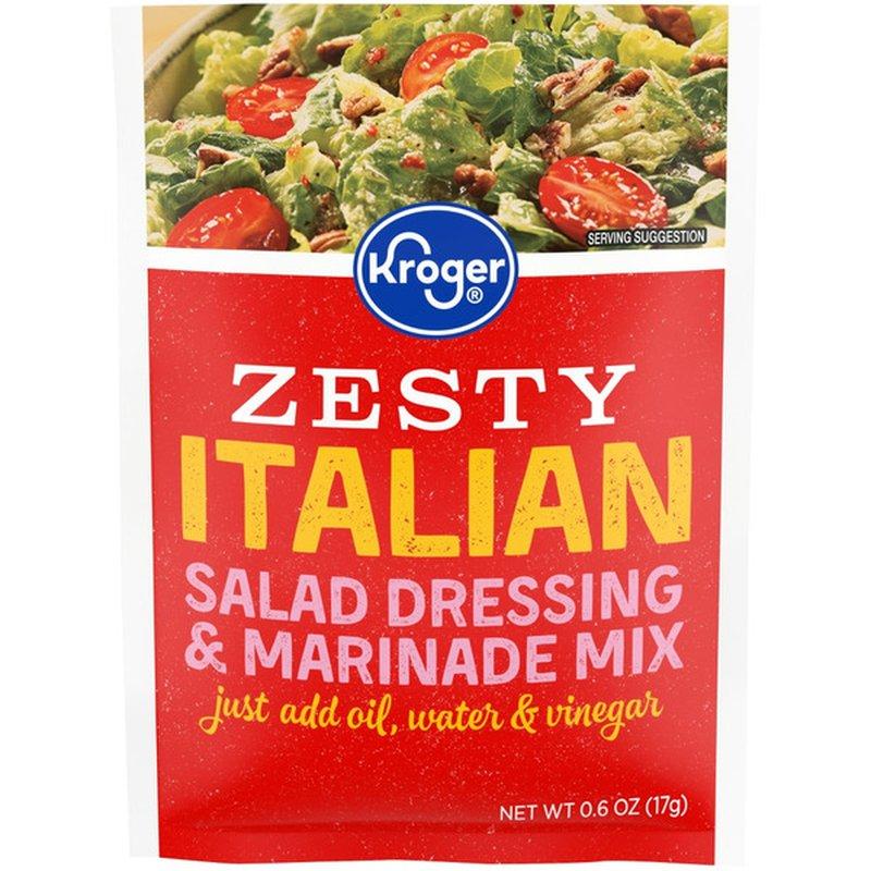 Kroger Salad Magic Zesty Italian Salad Dressing & Marinade Mix