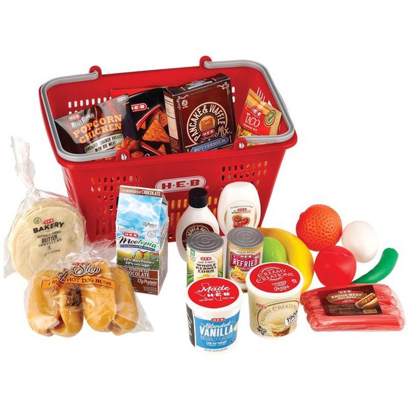 H-E-B Food Basket With Playfood