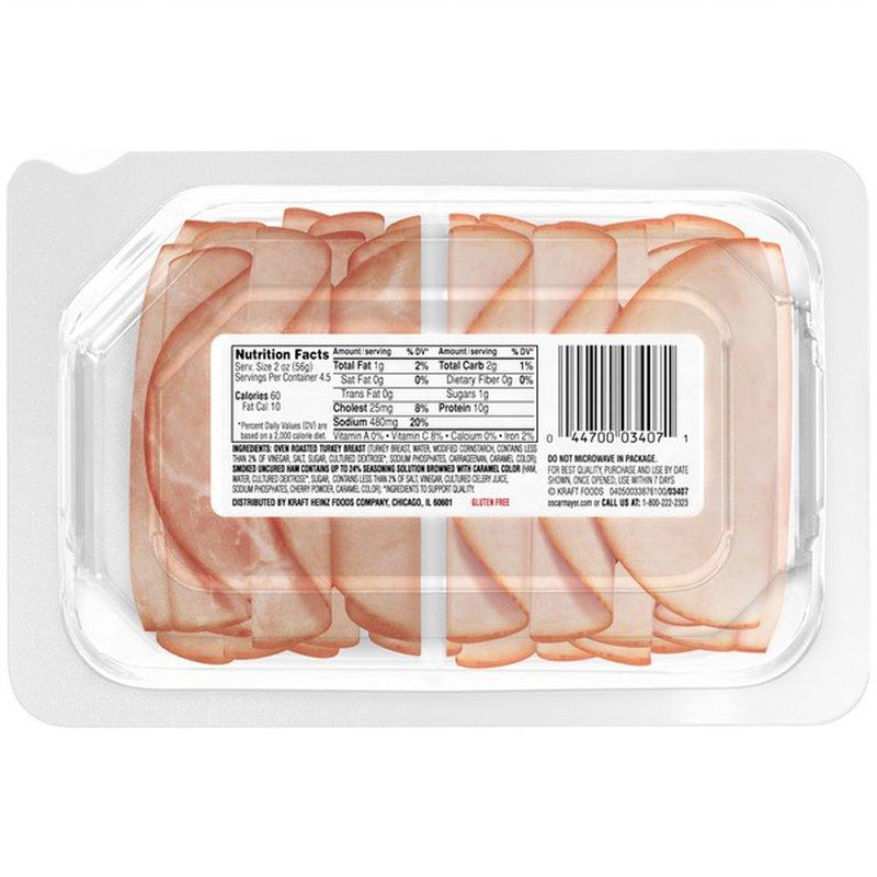 Oscar Mayer Delifresh Combos Turkey Breast and Ham