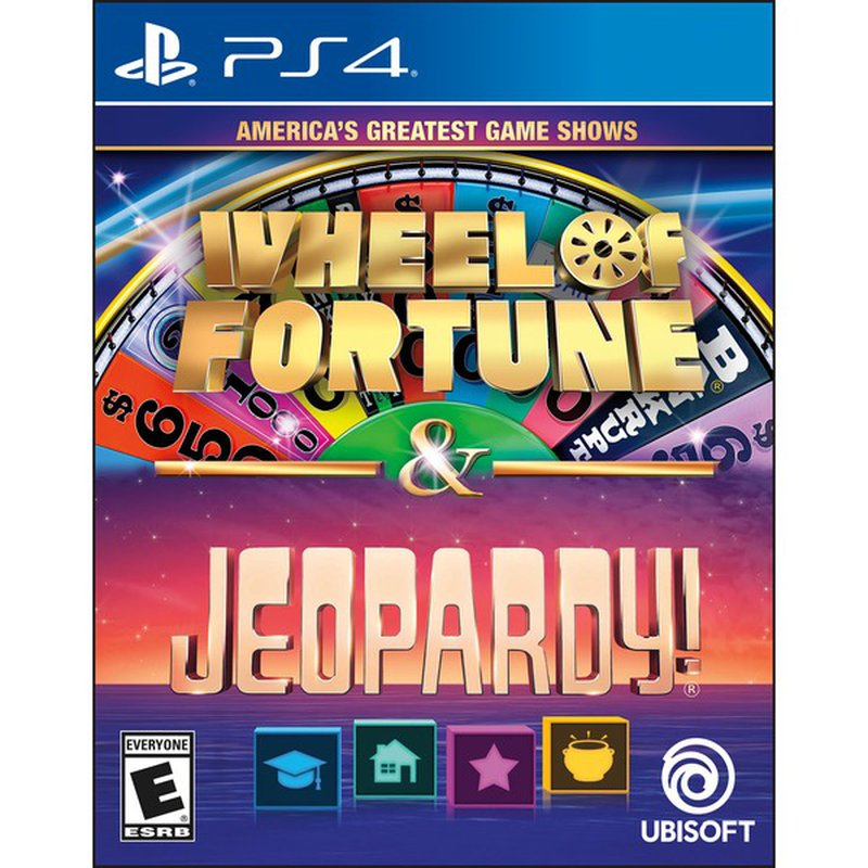 Ubisoft Ameicas's Greatest Game Shows Wheel of Fortune & Jeopardy for PS4
