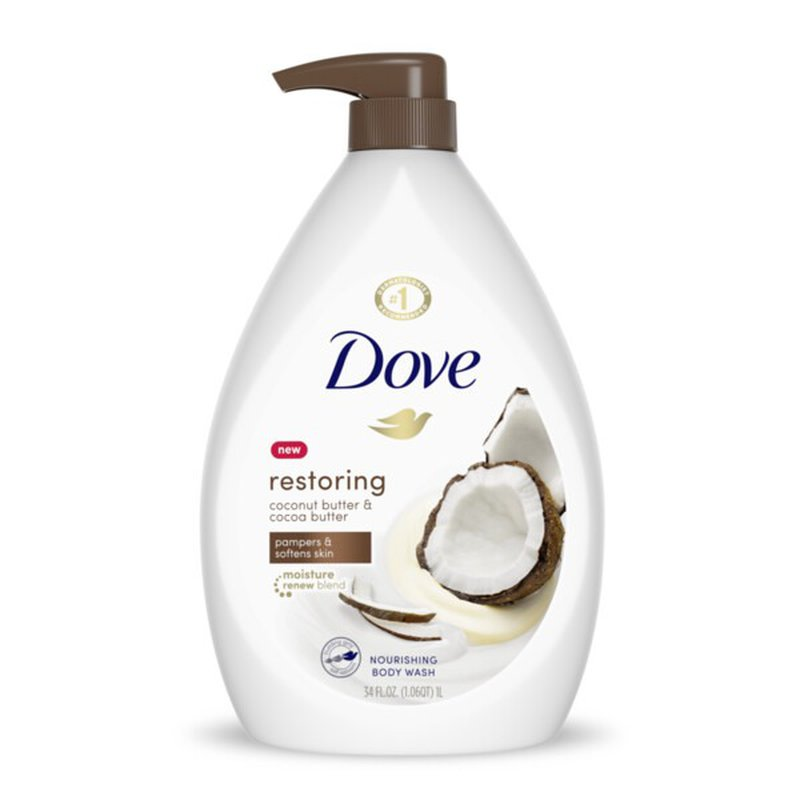Dove Body Wash Coconut Butter And Cocoa Butter 34 Oz From Meijer Instacart
