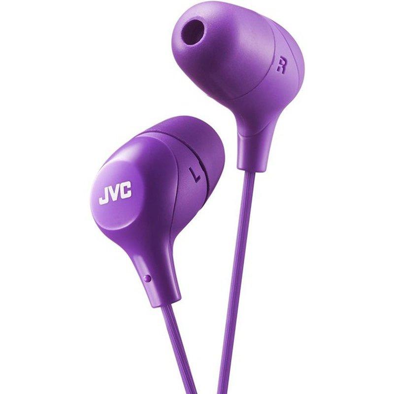 JVC Violet Marshmallow In-Ear Headphones