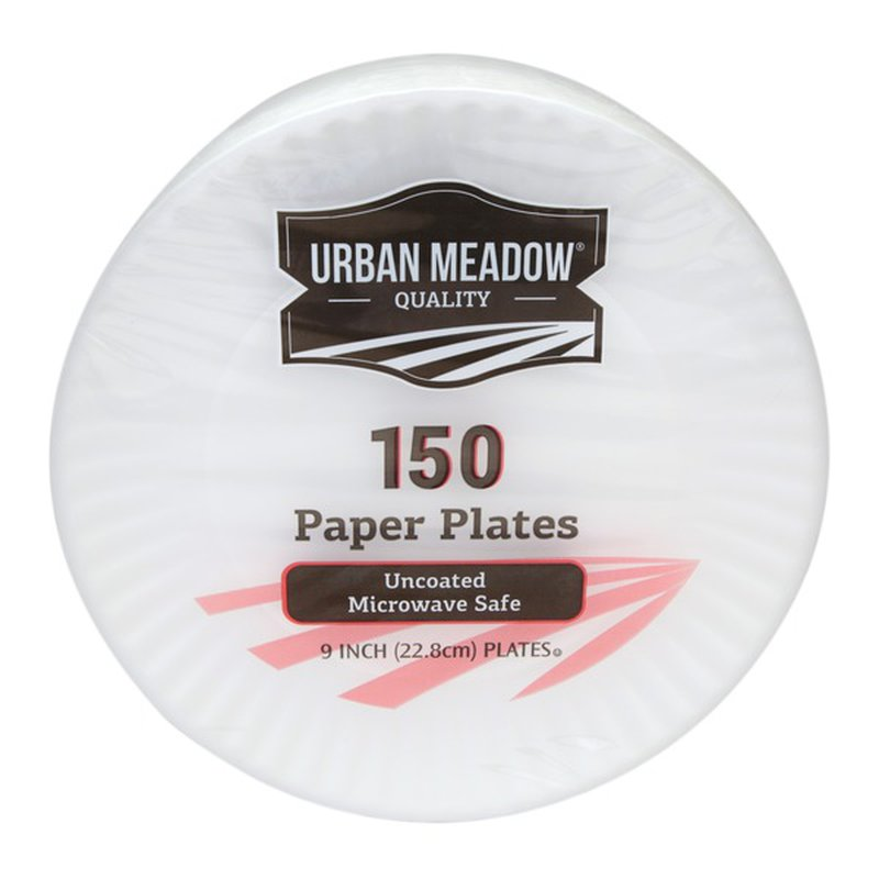 """Urban Meadow 9"""" Uncoated Plate"""