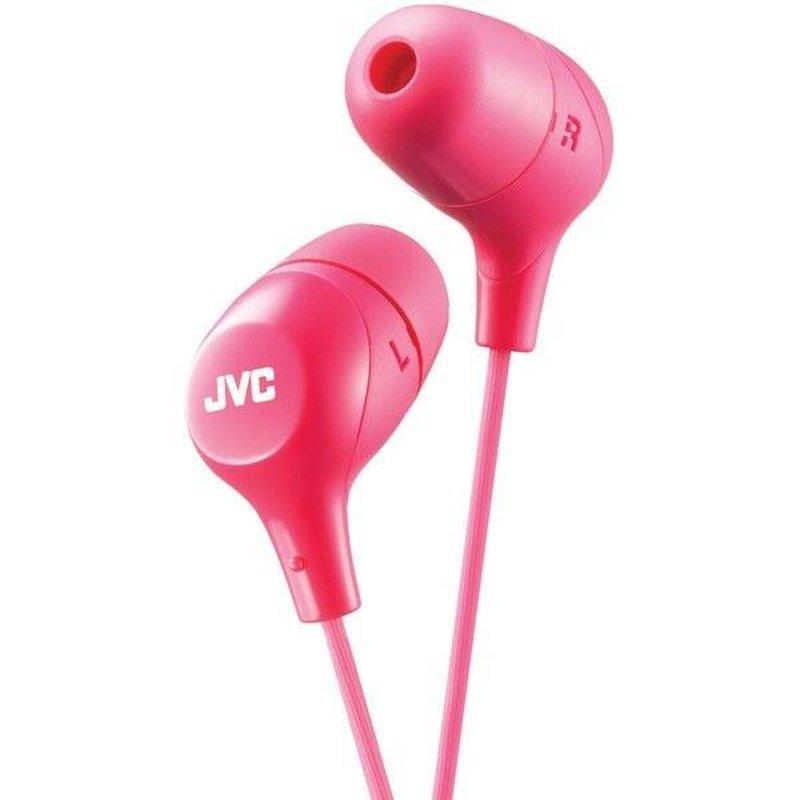 JVC Pink Marshmallow Inner Ear Headphones