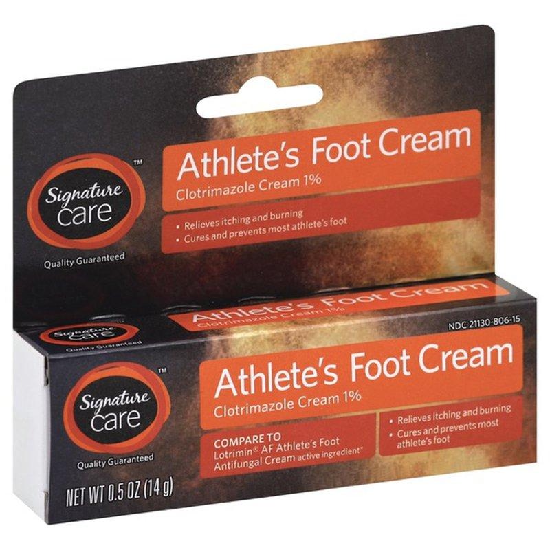 Signature Care Athlete's Foot Cream