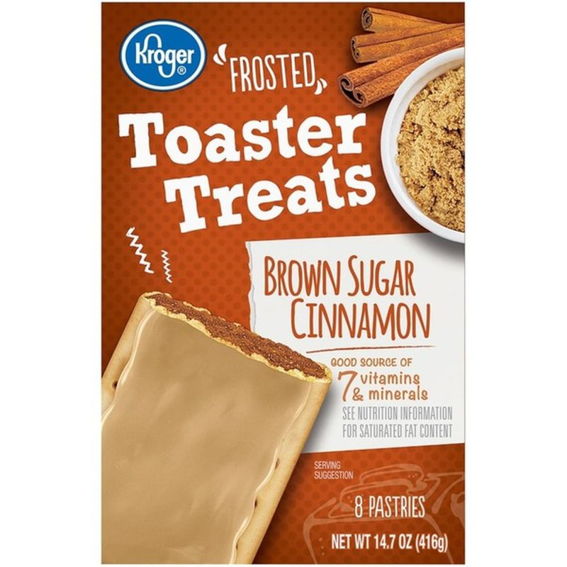 Kroger Brown Sugar Cinnamon Frosted Toaster Treats