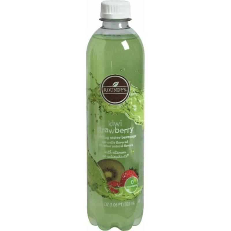 Roundy's Sparkling Water Beverage, Kiwi Strawberry