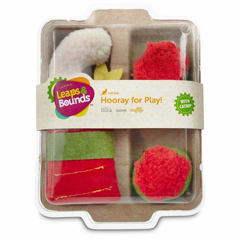 Leaps & Bounds Cat Toy With Catnip