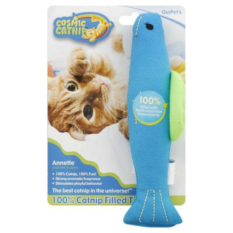 Pet Zone Annette Catnip Fish Cat Toy