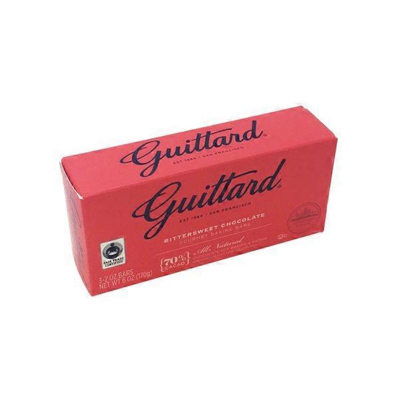 Guittard Baking Bars, Gourmet, Bittersweet Chocolate