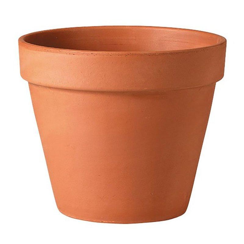 "5.9"" Round Terra Cotta Pot"
