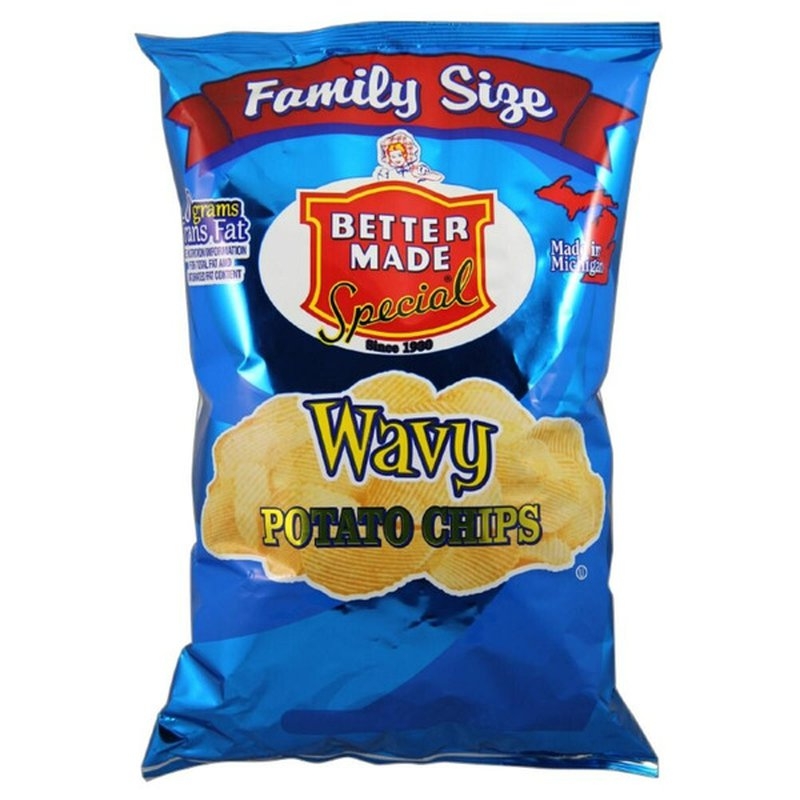 BETTER MADE Wavy Potato Chips