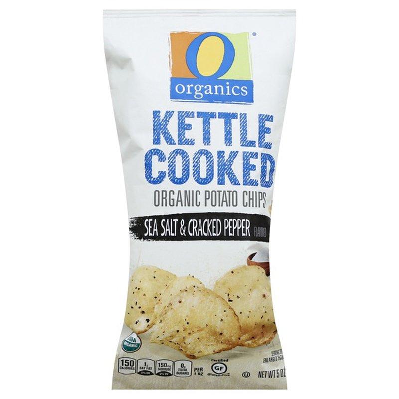 O Organics Sea Salt Kettle Chips