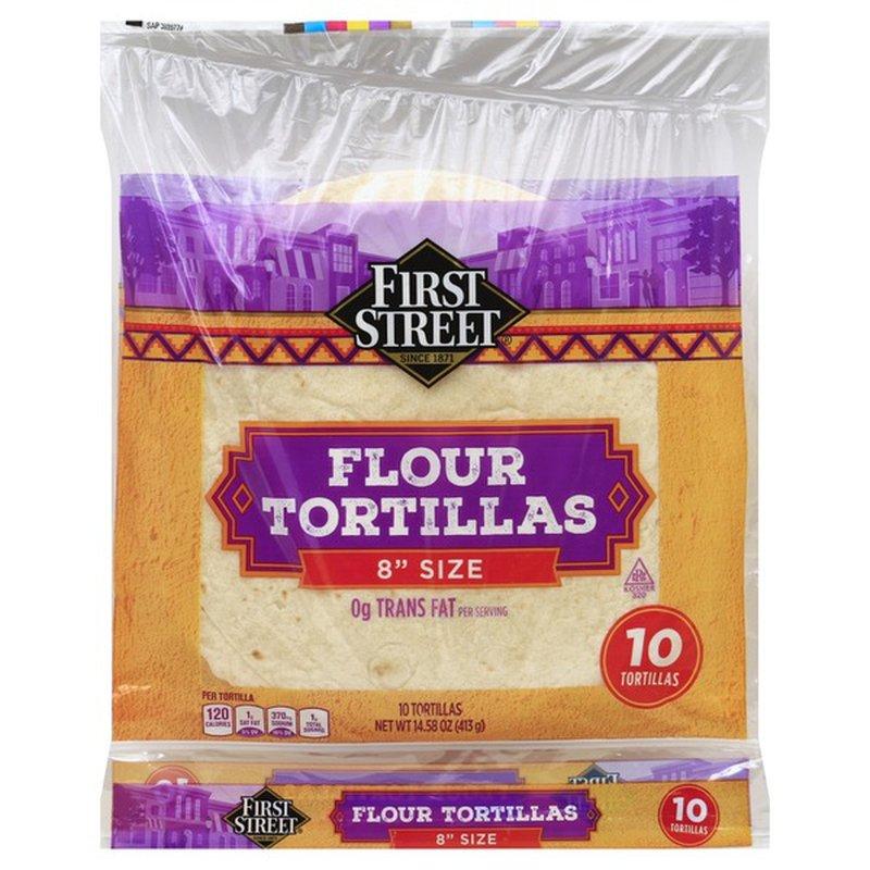 First Street Flour Tortillas