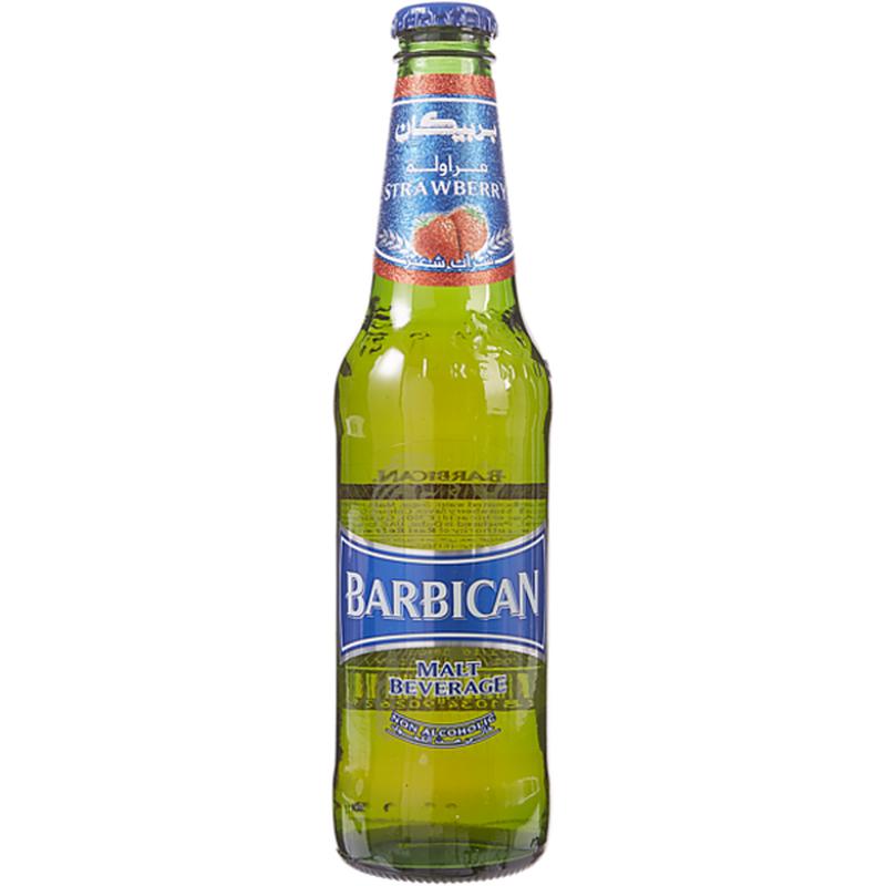 Barbican Strawberry Malt Beverage (Case)