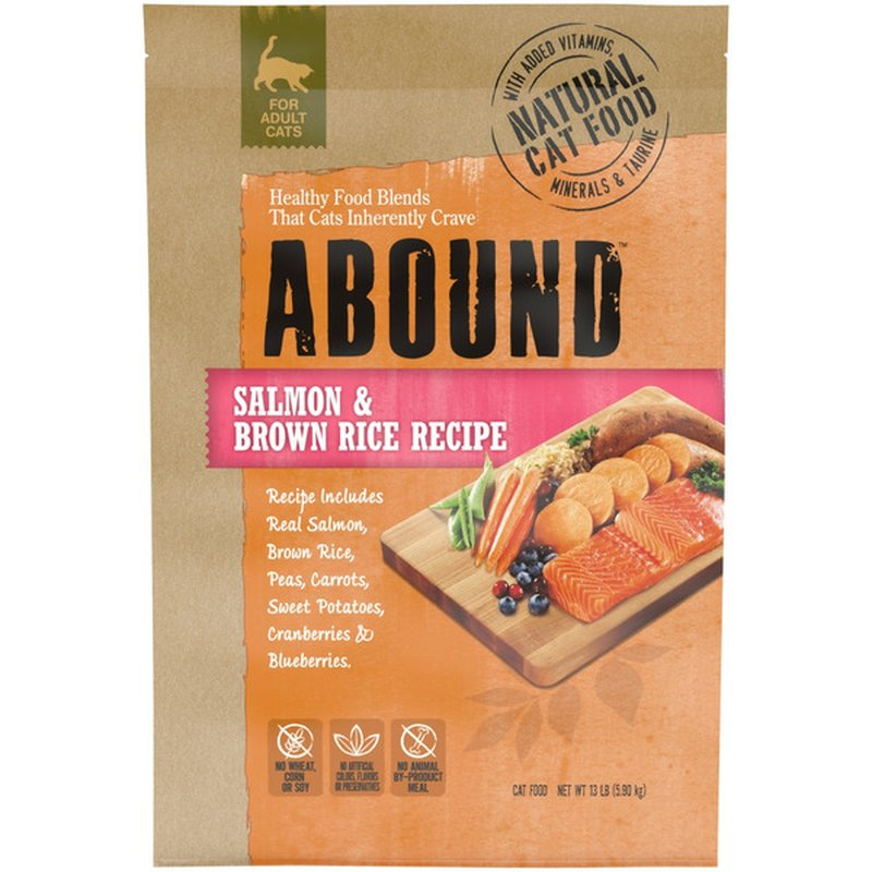 Abound Salmon & Brown Rice Cat Food