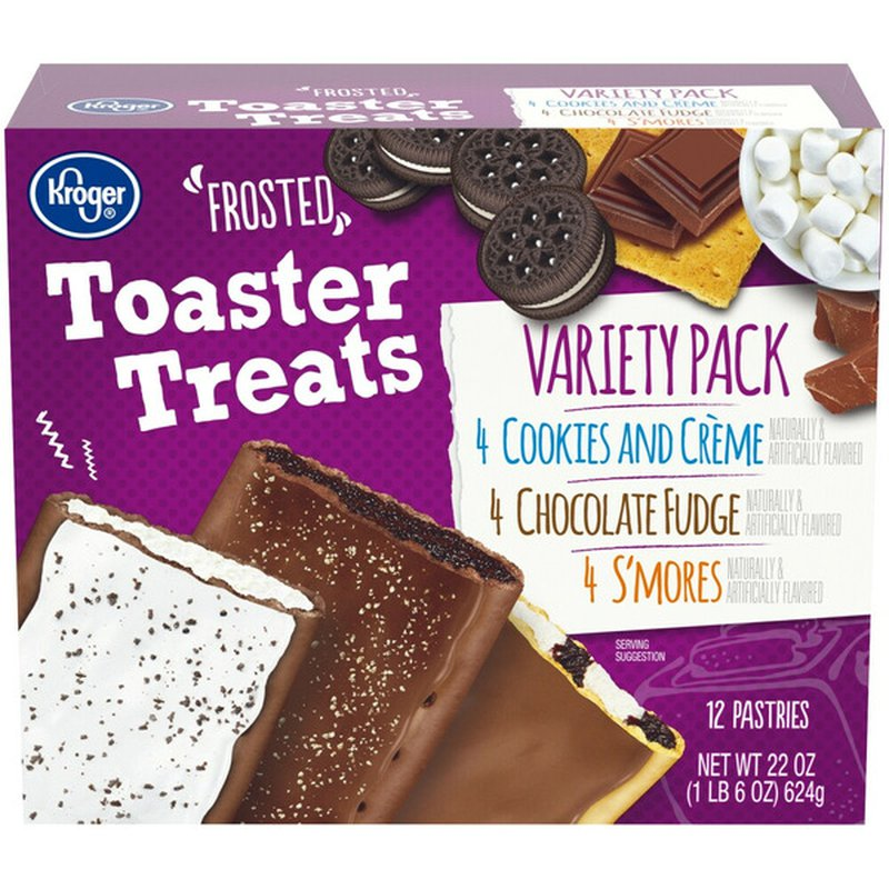 Kroger Frosted Toaster Treats Pastry Variety Pack