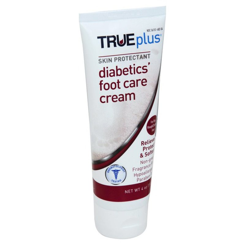 Trueplus Diabetics Foot Care Cream 4 Oz Instacart