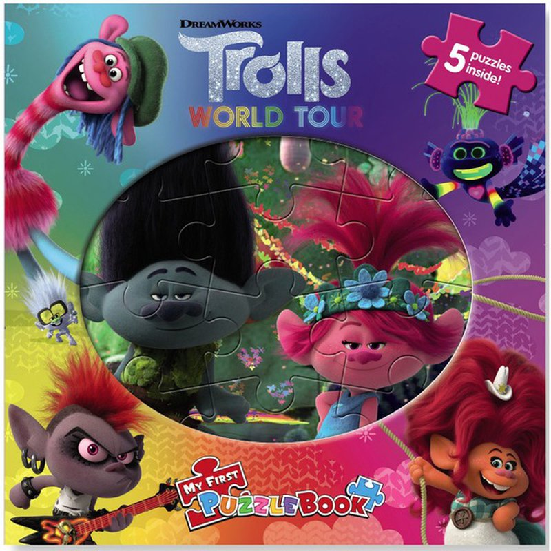 Phidal Publishing Inc Dreamworks Trolls World Tour Puzzle Book Each Instacart