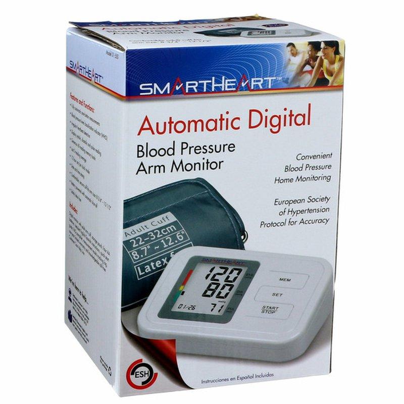SmartHeart Automatic Digital Blood Pressure Arm Monitor
