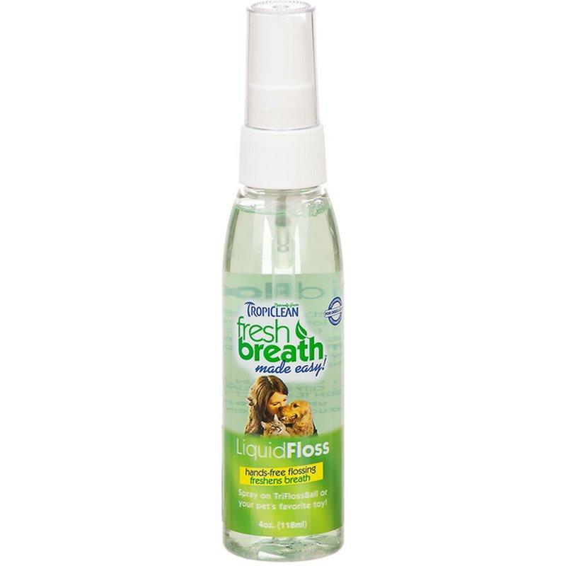 TropiClean Fresh Breath LiquidFloss for Dogs