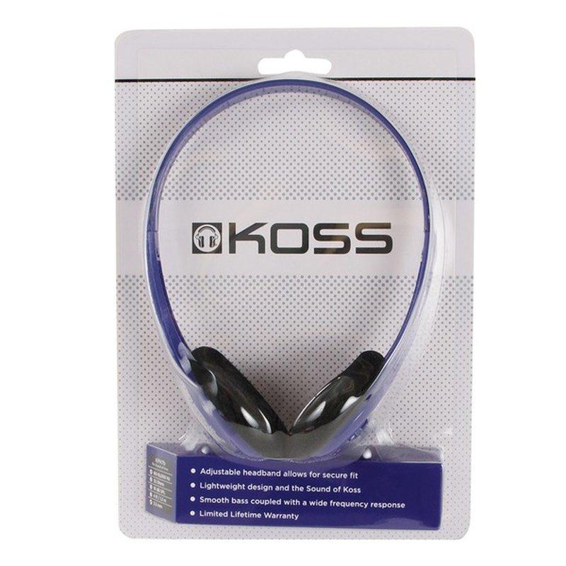 Blue On the Ear Headphones