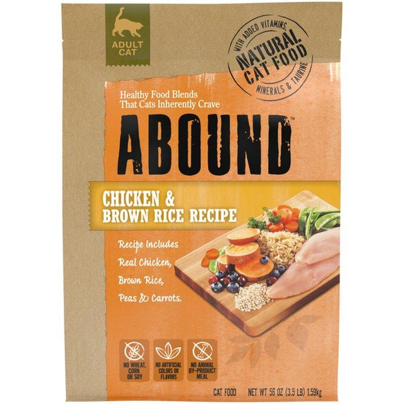 Abound Chicken & Brown Rice Adult Cat Food
