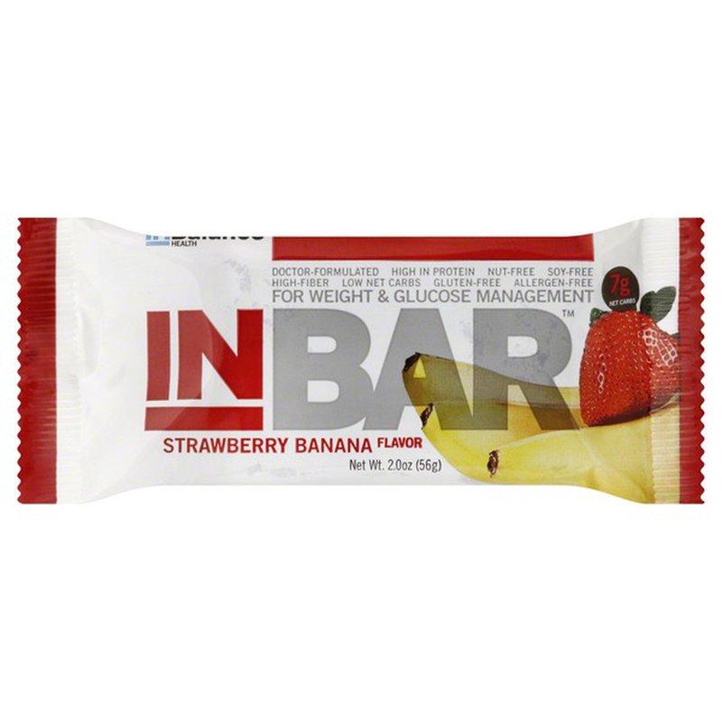 InBar Strawberry Banana Flavor Food Bar